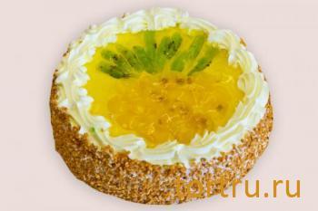 """Торт """"Тропический ананас"""", кондитерская Чайка, Калуга"""
