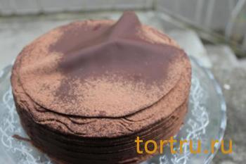 """Торт """"Венский шоколадный"""", Лайтком, кондитерская, Москва"""