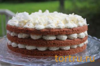"""Торт """"С белым шоколадом"""", Лайтком, кондитерская, Москва"""