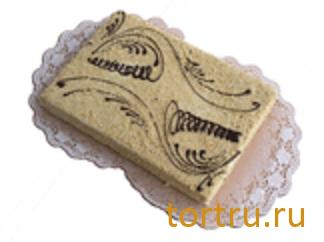 """Торт """"Птичье молоко с халвой"""" комбинат кондитерских изделий Птичье молоко, Москва"""