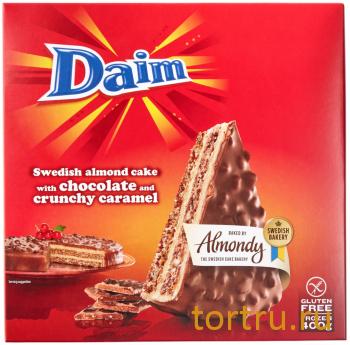 Миндально-шоколадный торт Daim, Икея