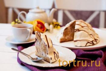 """Торт """"Сметанный"""", Кристоф, кондитерская фабрика десертов, Санкт-Петербург"""