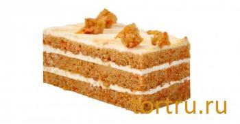 """Торт """"Морковный"""", Кристоф, кондитерская фабрика десертов, Санкт-Петербург"""