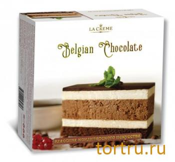 """Торт """"Бельгийский шоколад"""", кондитерский дом La-Creame"""