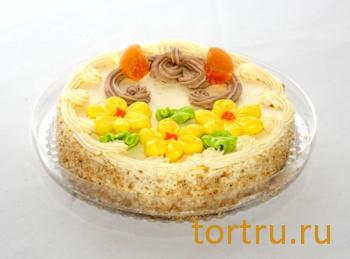 """Торт """"Бисквитно-кремовый"""", Хлебокомбинат Обнинск"""
