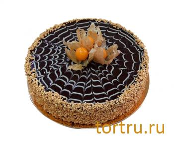 """Торт """"Блинно-шоколадный торт"""", кондитерская DolceVita, Дмитров"""