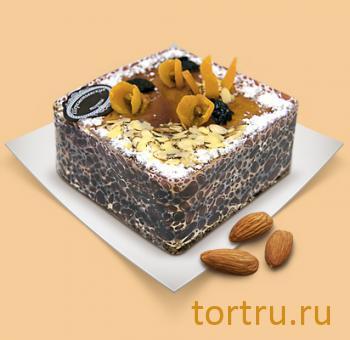 """Торт """"Карамельно-ореховый"""", Шереметьевские торты, Москва"""