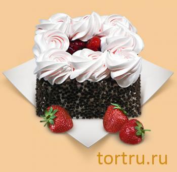 """Торт """"Клубника со сливками"""", Шереметьевские торты, Москва"""
