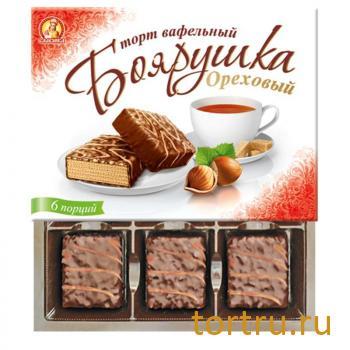"""Торт """"Боярушка ореховый"""", кондитерская фабрика Славянка"""