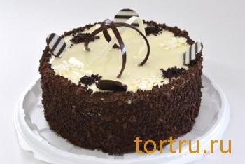 """Торт """"Два шоколада"""", кондитерский дом Богатырь, Боровск"""