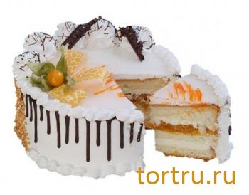 """Торт """"Йогуртовый абрикотин"""", фирма Татьяна, Воронеж"""