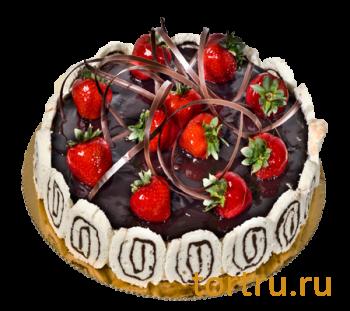 """Торт """"Кремчиз шоколад"""", французская кондитерская Шантимэль, Москва"""