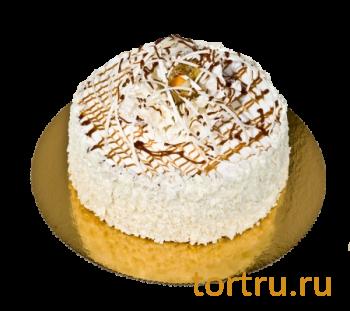 """Торт """"Киришский Ванильный"""", французская кондитерская Шантимэль, Москва"""