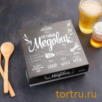 """Торт """"Тот самый Медовик"""", Кондитерская Прохорова"""