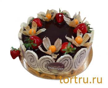 """Торт """"Кремчиз шоколадный"""", кондитерская DolceVita, Дмитров"""