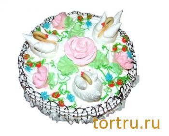 """Торт """"Лебединое озеро"""", Кузбассхлеб"""