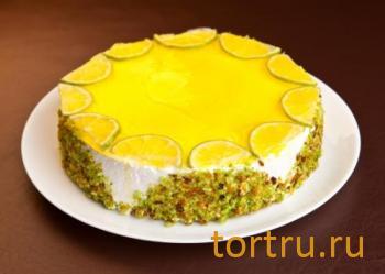 """Торт """"Лимонно-ягодный"""", кондитерская Ваниль"""