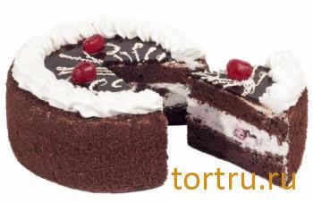 """Торт """"Пьяная вишня"""", кондитерская Сладушка, Тюмень"""