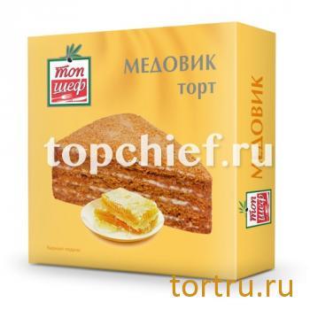 """Торт """"Медовик"""", Топ Шеф, Москва"""