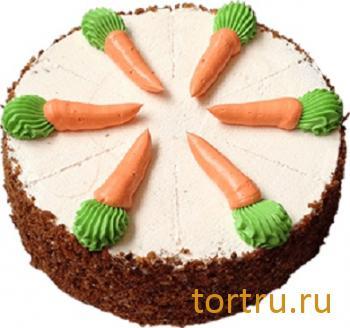 """Торт """"Морковный"""", Вкусные штучки, кондитерская, Обнинск"""