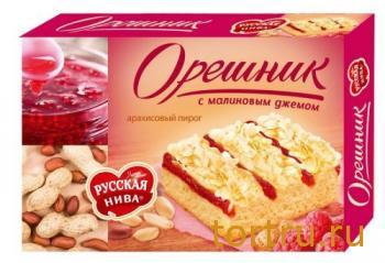 """Пирог """"Орешник"""", Русская Нива"""