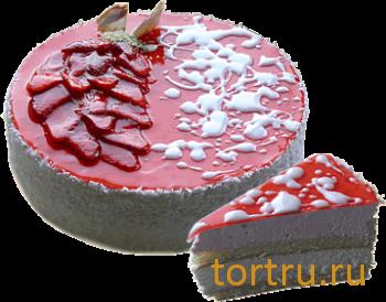 """Торт """"Йогурт Клубничный 2"""", Лайтком, кондитерская, Москва"""