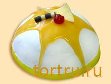 """Торт """"Персик с апельсином"""", Малика"""
