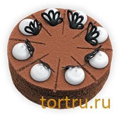 """Торт """"Чёрный принц"""", Вкусные штучки, кондитерская, Обнинск"""