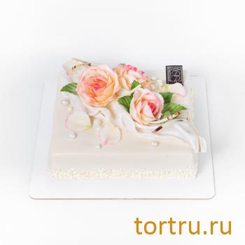 """Торт """"Праздничные розы"""", Кондитерский дом Renardi, Москва"""