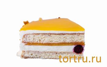 """Торт """"Йогуртовый с маракуйя лайт"""", Кондитерский дом Renardi, Москва"""