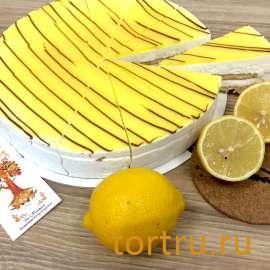 """Торт """"Лимонный Мусс"""", булочная кондитерская """"За Мечтой"""""""