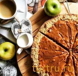 """Торт """"Карамельно-Яблочный"""", булочная кондитерская """"За Мечтой"""""""