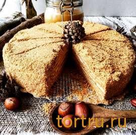 """Торт """"Медовик по-домашнему"""", булочная кондитерская """"За Мечтой"""""""