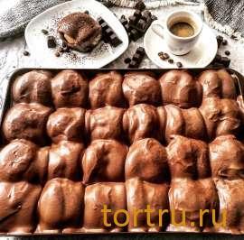 """Торт """"Профитроль Темного шоколада"""", булочная кондитерская """"За Мечтой"""""""