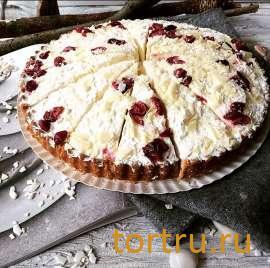 """Торт """"Брусничный Кремовый Бельгия"""", булочная кондитерская """"За Мечтой"""""""
