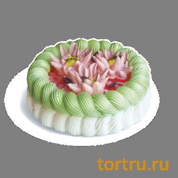 "Торт ""Магия Клубника"", кондитерская фабрика Сластёна, Чебоксары"