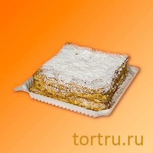 """Торт """"Слоеный домашний"""", Пятигорский хлебокомбинат"""