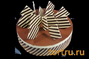 "Торт ""Три шоколада"", кондитерская Крем Роял, Москва"