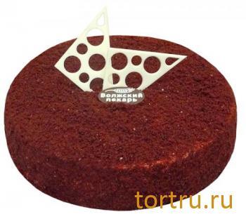 """Торт """"Красный бархат"""", Волжский пекарь, Тверь"""