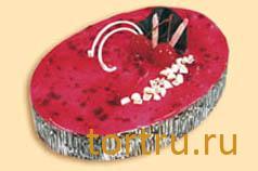 """Торт """"Йогуртовый вишневый"""", Малика"""