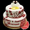 Свадебный Торт на заказ, Кондитерская фабрика Любава
